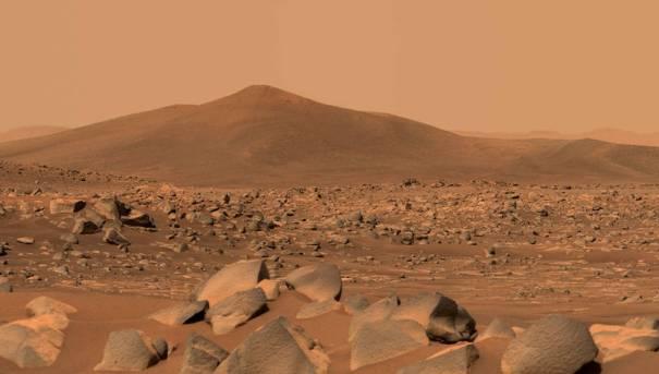 кратер Джезеро на Марсе
