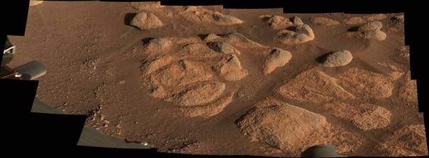 Изучение марсианских скал