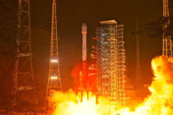 Спутник Fengyun-4B (FY-4B) был запущен ракетой Long March-3B