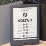 ONYX BOOX Volta 3 – 6-дюймовый ридер с дисплеем E Ink Carta, 4-ядерным процессором и подсветкой MOON Light 2