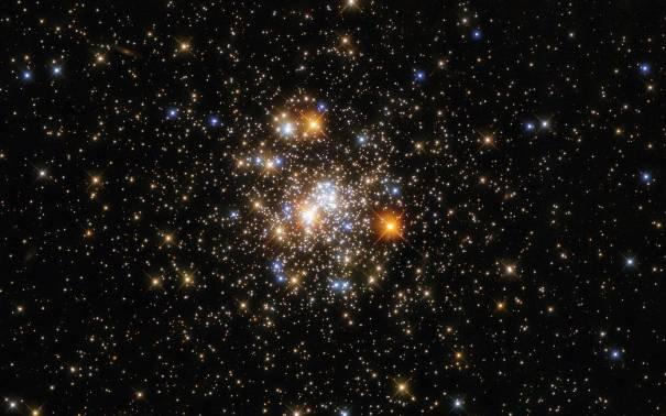 Шаровое скопление звезд NGC 6717