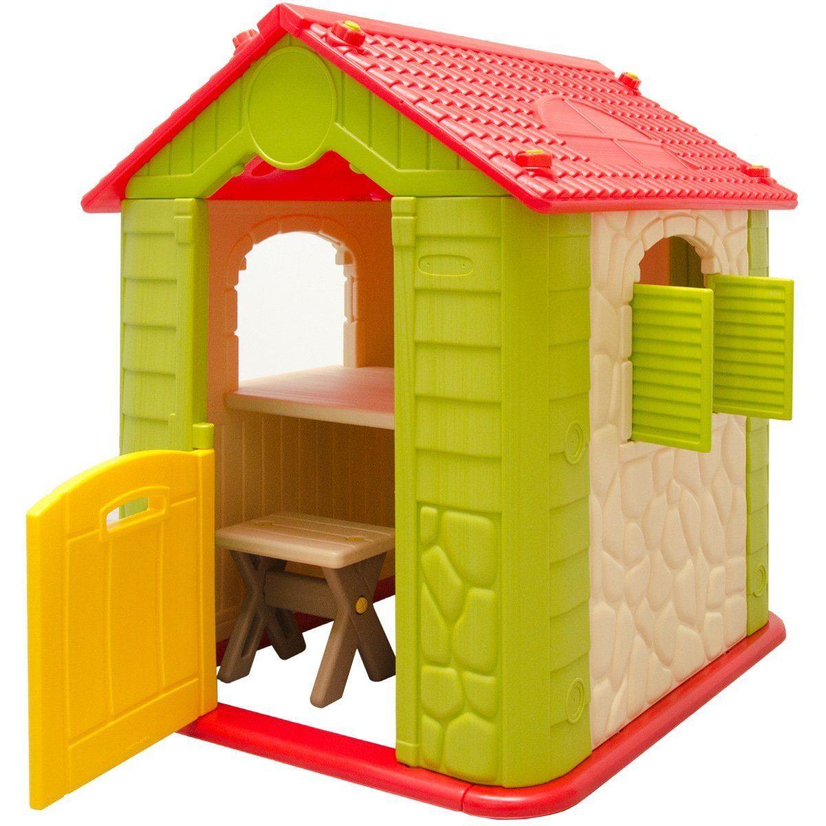 Spielhaus Garten Plastik Spielhaus Garten Kunststoff Spielhaus