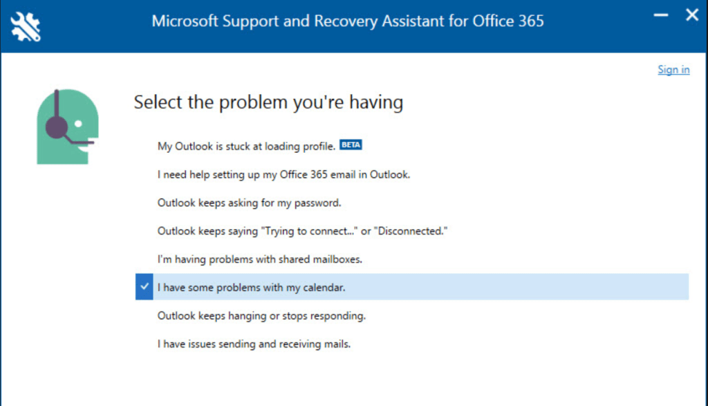 Microsoft Support and Recovery Assistant - Expert In the Cloud