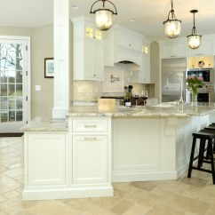 Kitchen Design Pictures Cabinets Home Depot Challenge Traditional Tract With Awkward House Footprint