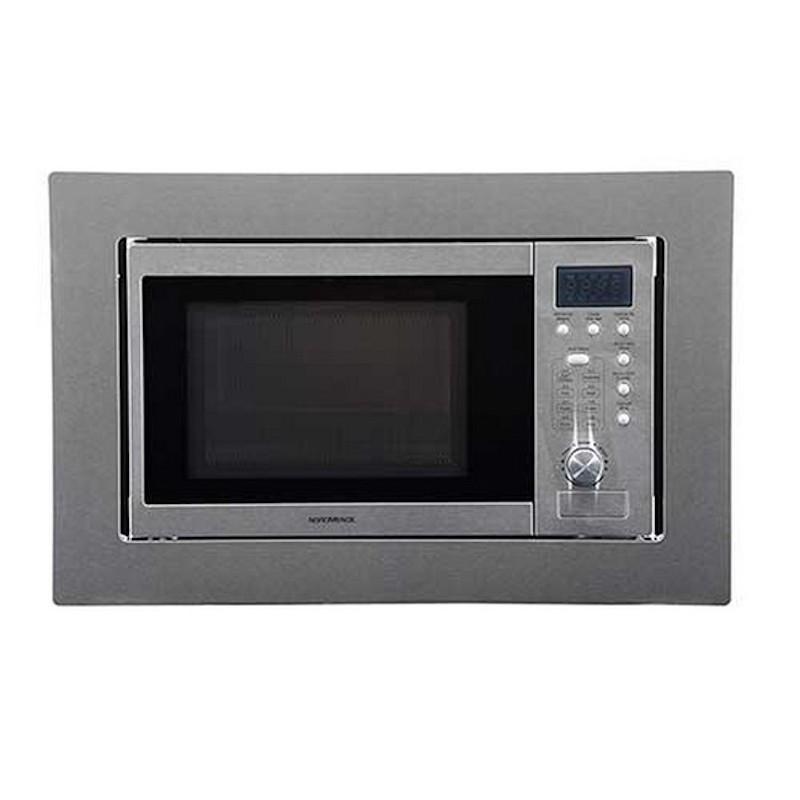 nordmende built in stainless steel microwave nm825bix