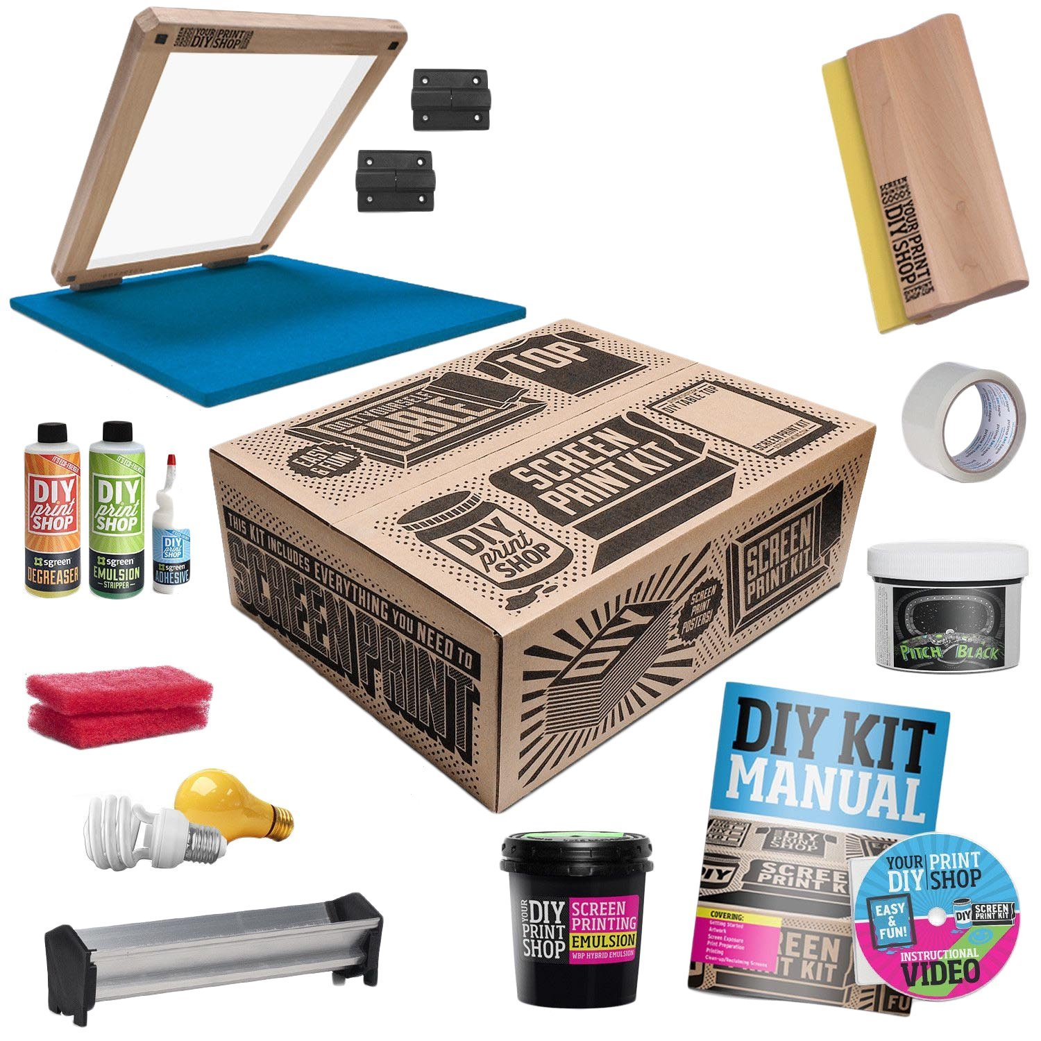 Diy T Shirt Screen Printing Kit Expertly Chosen Gifts