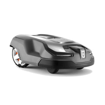 Husqvarna Automower 315X Robotic Lawn Mower: Front view