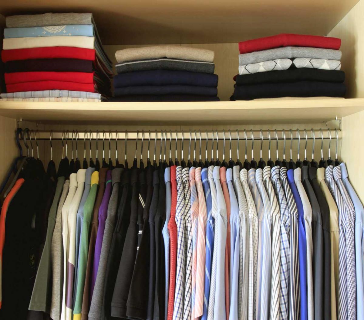 Kleiderschrank Zum Hangen Kleiderstange Als Diy Idee Fur Die