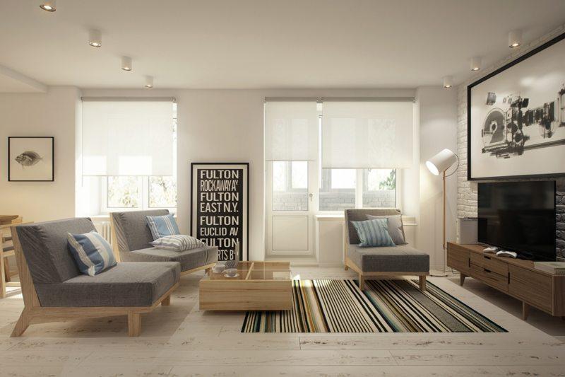 Un ambiente di 18 metri quadri deve essere studiato in modo diverso. 75 Idee Originali Di Un Moderno Salotto Interno Di 18 Mq
