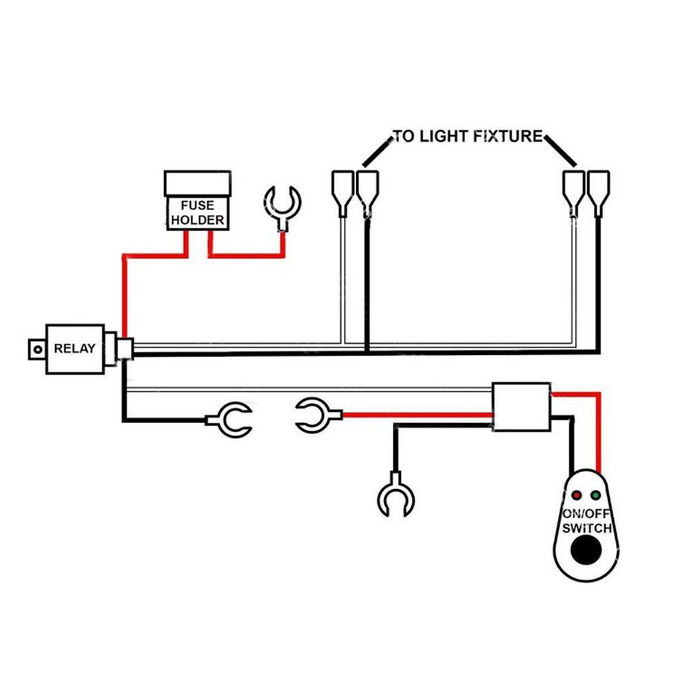 Led Light Bar Wiring Harness Instructions