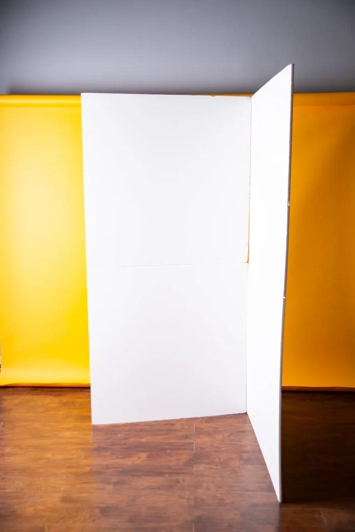 A vflat in a studio setting