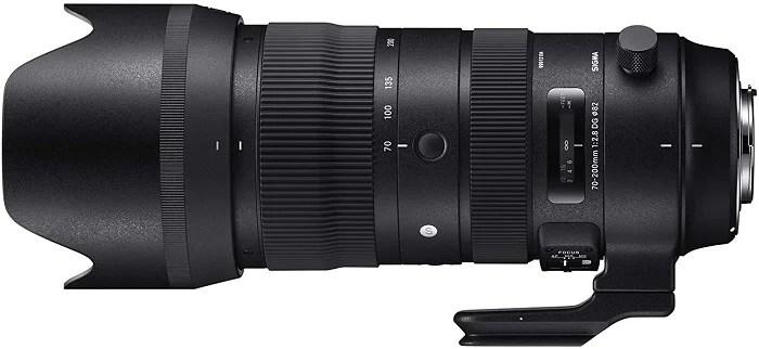 Sigma 70-200mm Telephoto lens