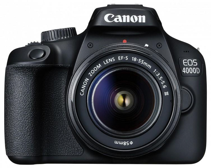 best camera for portraits Canon EOS 4000D