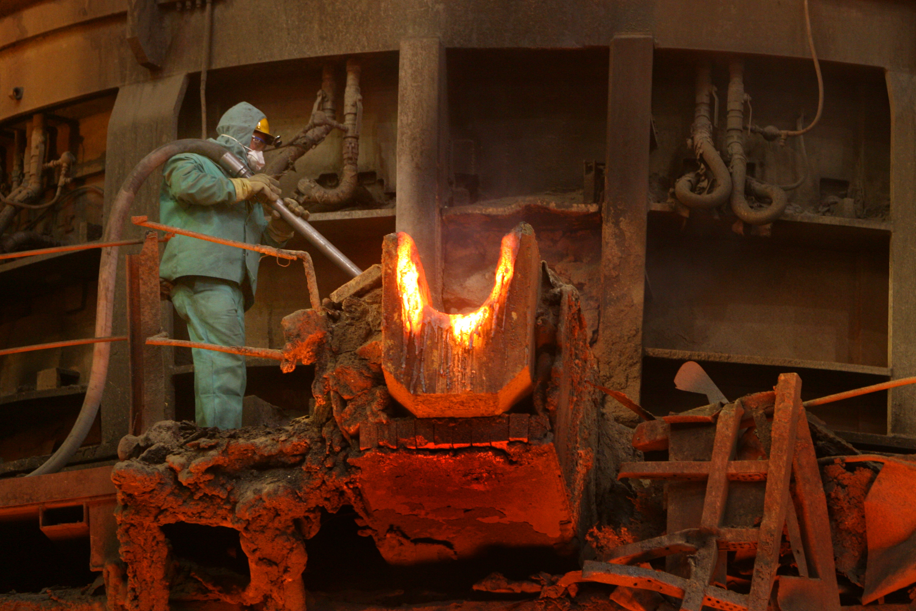 Steel Mill Electric Arc Furnace Accidents