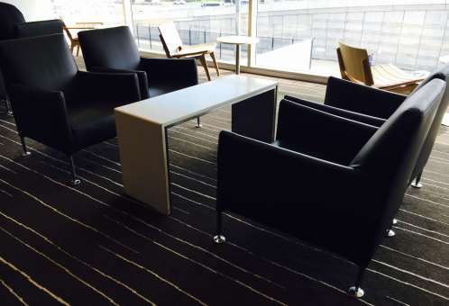 ADL LNG ARMCHAIR WITH BENCH TABLE