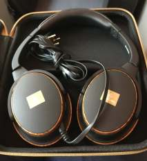 Emirates First Class headphones