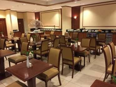 Emirates Lounge AKL dining room