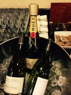 Emirates Lounge AKL drinks