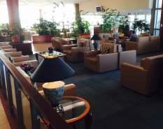 Emirates Lounge BNE seating
