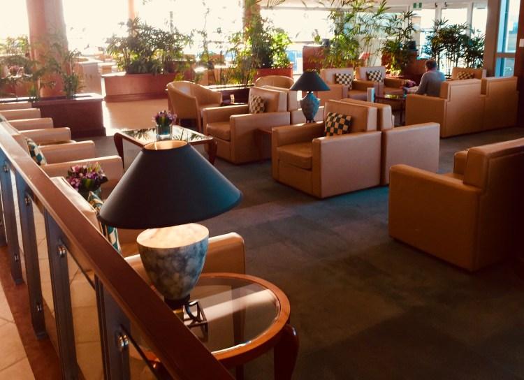 new Emirates Lounge BNE