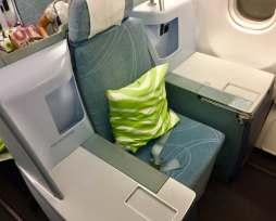 Finnair-A330-JFK-HEL-throne-seat-round-world-trip