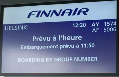Finnair-Paris-Helsinki-boarding-gate-French-round-world-trip