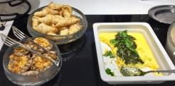 Finnair-Premium-Lounge-breakfast-food-round-world-trip