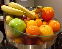 Juliana-Hotel-Paris-breakfast-fruit-bowl-round-world-trip