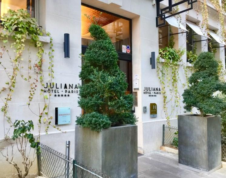 Juliana-Hotel-Paris-front-entrance-round-world-trip
