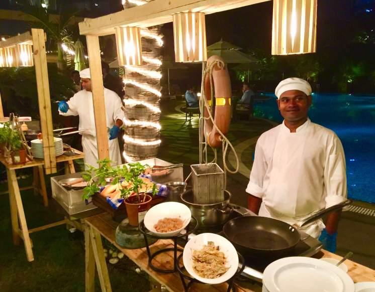Hyatt-Regency-Hotel-Mumbai-backyard-bbq-cooking-stations