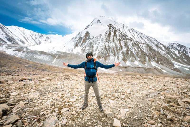 Hiking a Mountain Pass