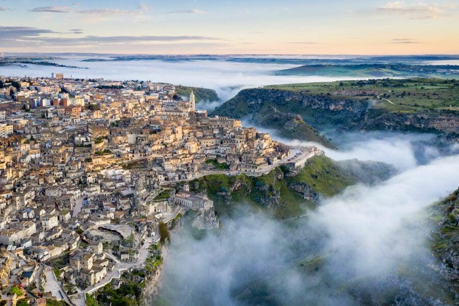 Matera Italy Sunrise