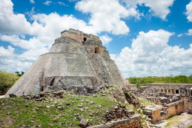 Uxmal Ruins in Mexico