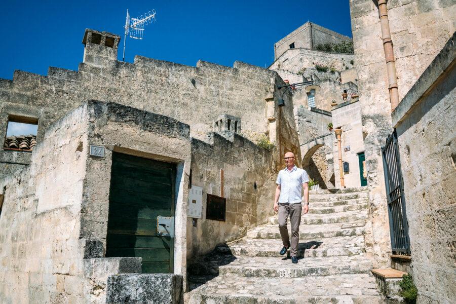 Walking Matera's Streets