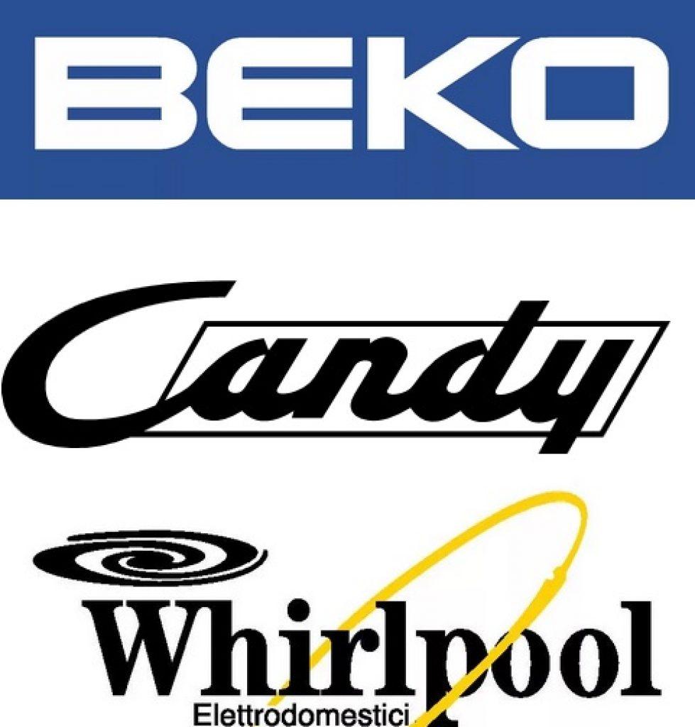 логотип беко, канди, вирпул