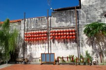 Chinese courtyard in George Town