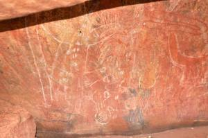 Uluru Rock Art, Australia (Photo: Jan Haenraets, 2012)