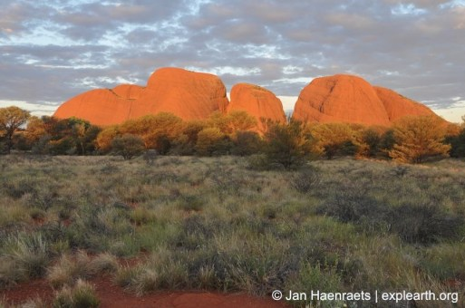 Sunset at Kata Tjuta, Australia (Photo: Jan Haenraets, 2012).