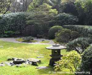 The Zen Garden in the Japanese Tea Garden, San Francisco (Photo: Jan Haenraets, 2013).