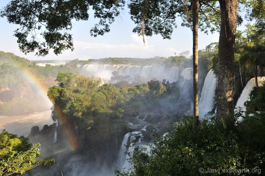 Iguana Falls, Argentina, by Jan Haenraets, 2014