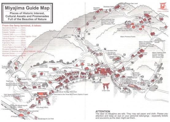 Miyajima Map