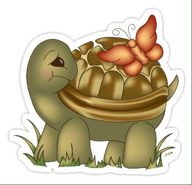 Fábula - A borboleta e a tartaruga