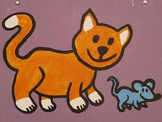 Fábula - O gato e os camundongos