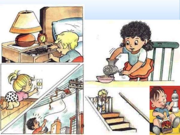 Prevenção de acidentes domésticos