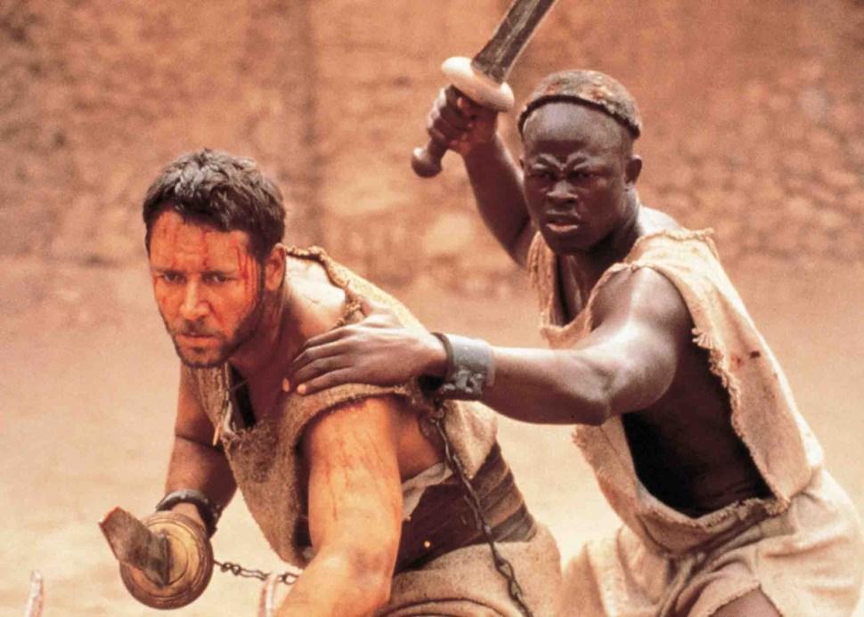 Russell Crowe, Djimon Hounsou