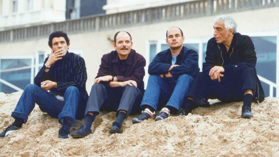 Marc Lavoine, Jean-Pierre Darroussin, Bernard Campan, Gérard Darmon