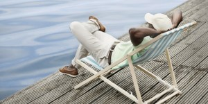 relaxing helps you unwind for the next task