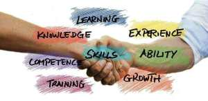 business skill and knowledge is power