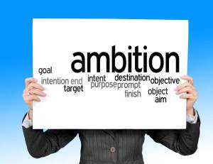 Ambition is a personality strength