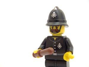 A dummy police